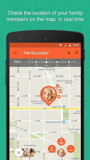 Zoemob Family Locator screenshot 1