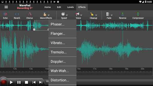 WavePad Audio Editor Free screenshot 7