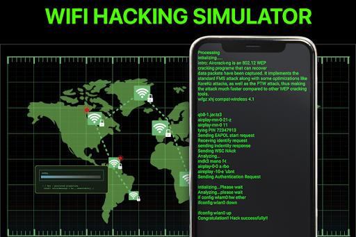 Wifi Password Hacker Prank & SpeedTest Master Lite screenshot 1
