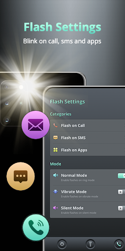 Flash on Call and SMS - Battery Manager screenshot 2