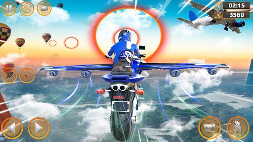 Mega Ramp Impossible Tracks Stunt Bike Rider Games screenshot 7