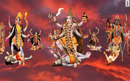 4D Maa Kali Live Wallpaper 16 تصوير الشاشة