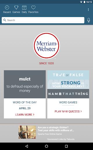 Dictionary - Merriam-Webster screenshot 9