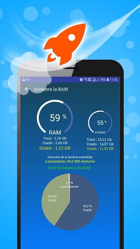 WiFi, 5G, 4G, 3G Speed Test -Speed Check - Cleaner screenshot 3