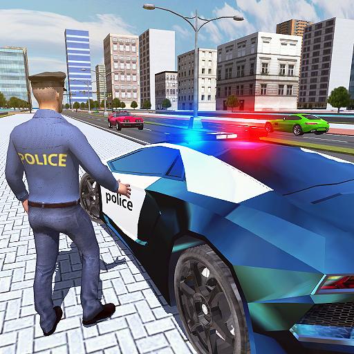 Police Crime City 3D icon