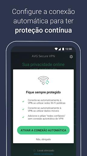 AVG VPN Segura – Proxy VPN ilimitados, Privada VPN screenshot 4