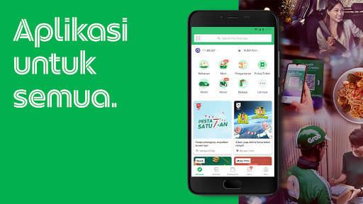Grab: makanan, pengiriman, pembayaran, ojek, pulsa screenshot 1