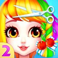 Magical Hair Salon 2: Mädchen Makeover & Anzieh on 9Apps