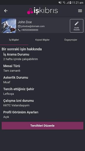 İş Kıbrıs 5 تصوير الشاشة