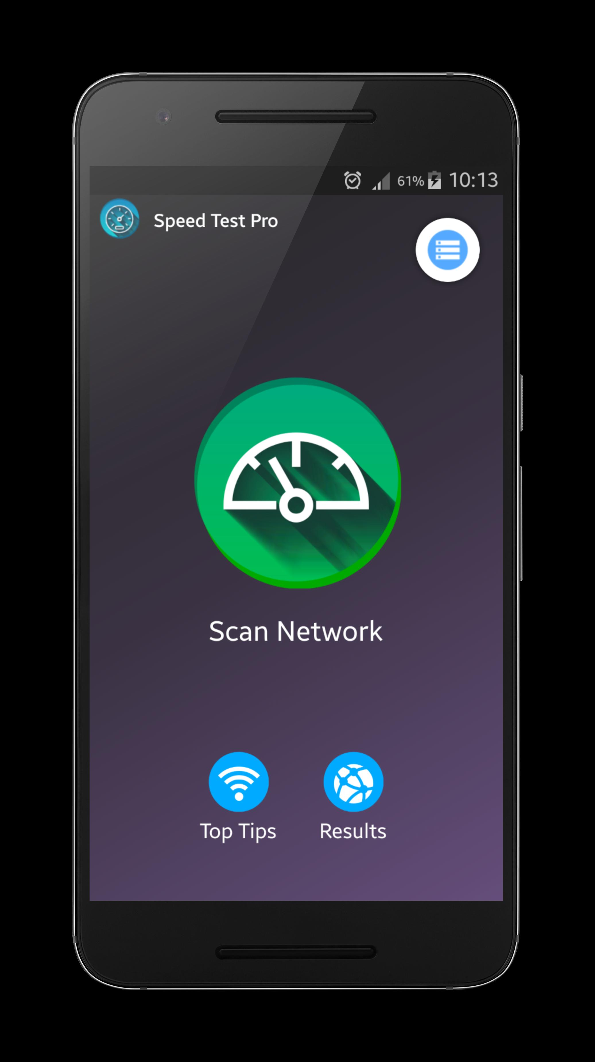 Speed Test Pro for Android™ screenshot 2