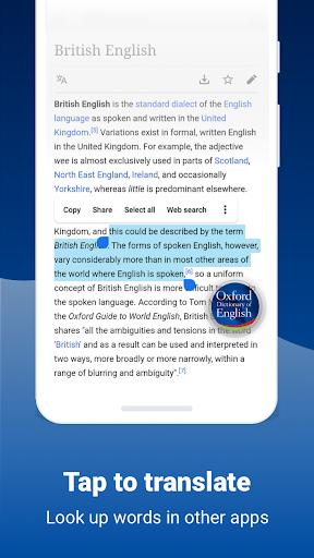 Oxford Dictionary of English screenshot 6