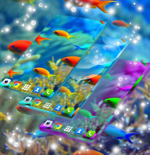 Fish Live Wallpaper Free screenshot 1