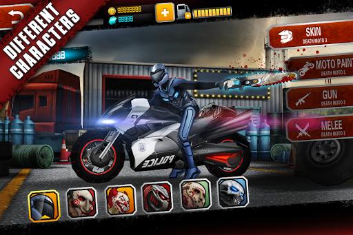 Death Moto 3 : Fighting Bike Rider 1 تصوير الشاشة
