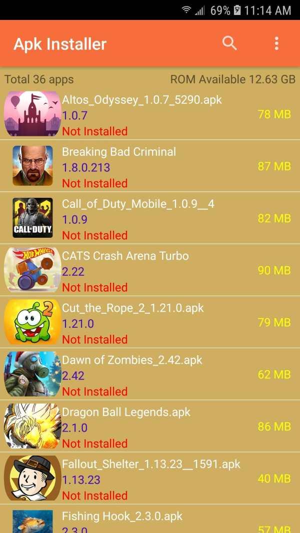 Apk Installer screenshot 14