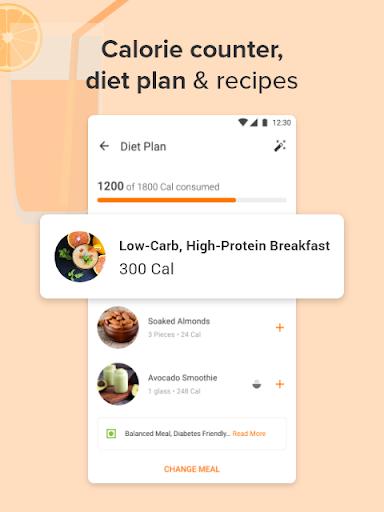 Calorie Counter, Diet Plan, Dietitians, Trainers 3 تصوير الشاشة