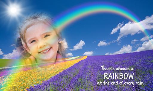 Rainbow Photo Frames 6 تصوير الشاشة
