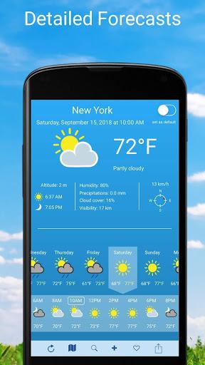 Weather 2 weeks screenshot 1