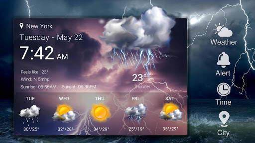 Today Weather& Tomorrow weather app screenshot 10