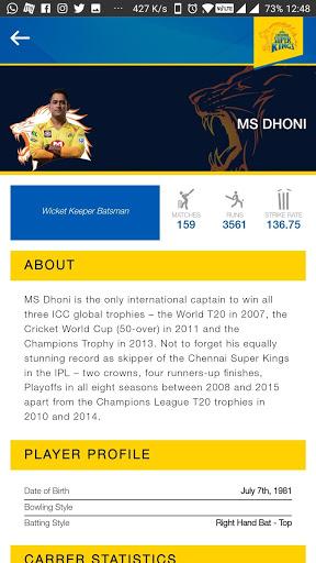Chennai Super Kings screenshot 5