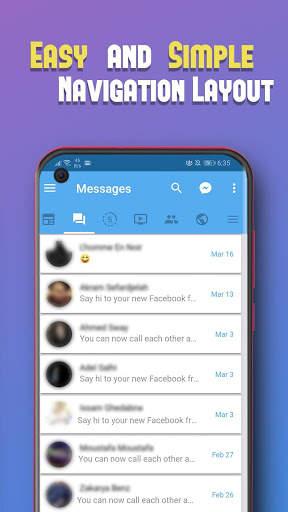 Unseen for Facebook screenshot 5