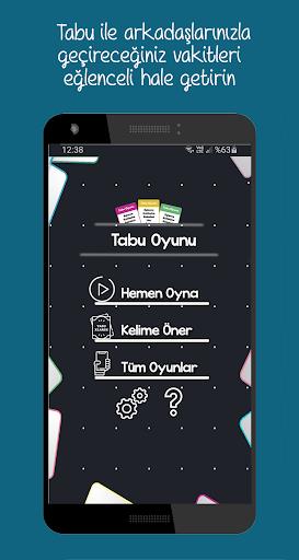 Tabu screenshot 1