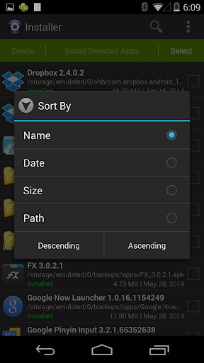 Installer - Install APK screenshot 3