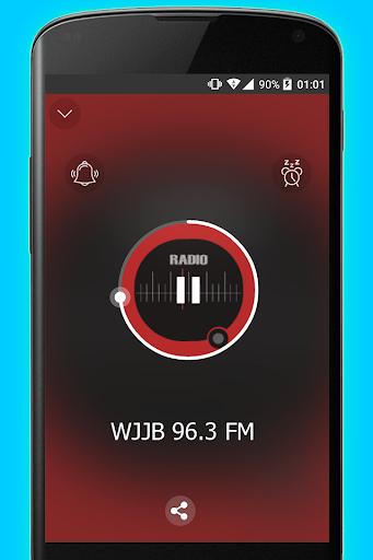 96.3 FM Big Jab WJJB Radio Station 1 تصوير الشاشة