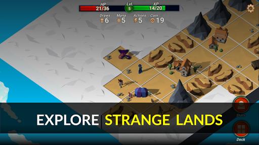 Quest Lands : Slay the Titan - Roguelike Card RPG screenshot 2