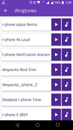 i-phones Ringtones - For Android Phones screenshot 2