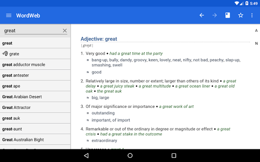 Dictionary - WordWeb स्क्रीनशॉट 6