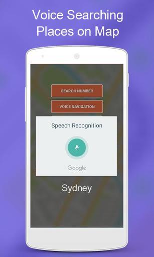 Mobile Number Location Finder - Voice Navigation screenshot 4
