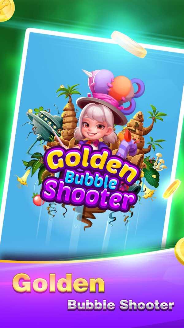 Golden Bubble Shooter screenshot 1
