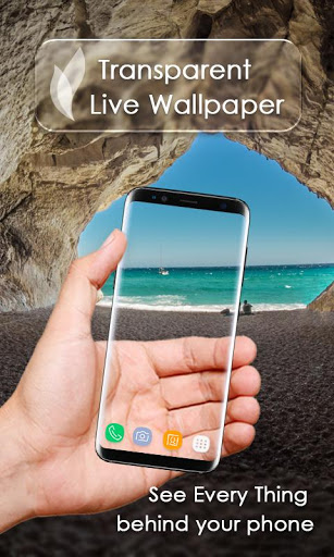 Transparent Live Wallpaper screenshot 1