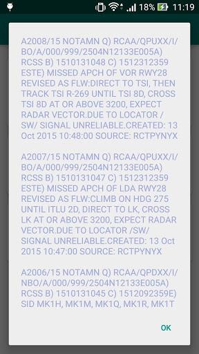 台灣機場天氣(METAR Now) 6 تصوير الشاشة