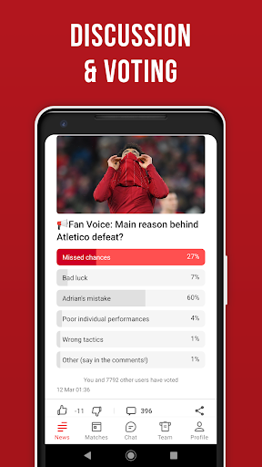 LFC Live – Unofficial app for Liverpool fans скриншот 6
