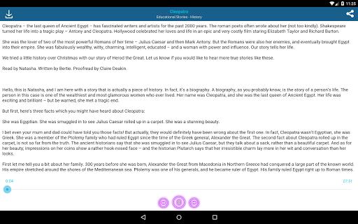 Audio Stories (English Books) screenshot 10