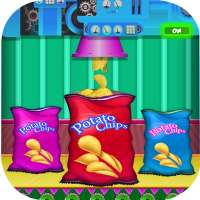 Kartoffelchips Snack Factory: Pommes Maker on 9Apps