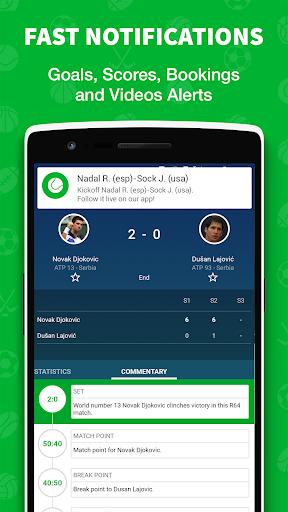 -نتائج مباشرة في كرة القدم 3 تصوير الشاشة