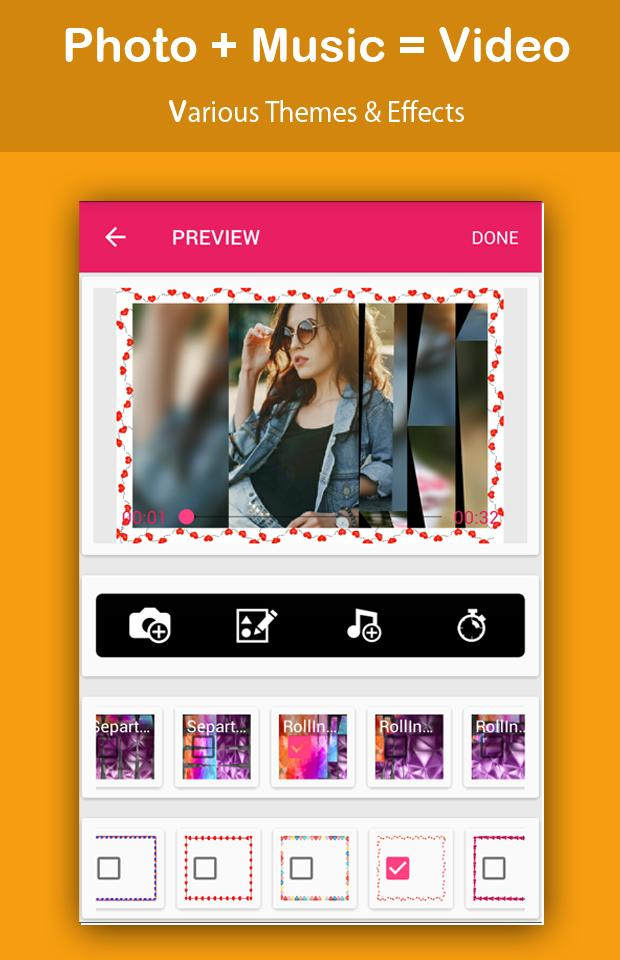 Video Maker with Photo and Music screenshot 6