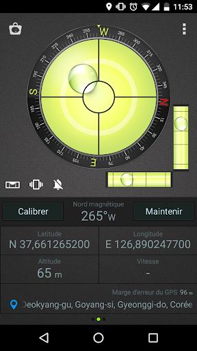 Boussole Niveau et GPS screenshot 4