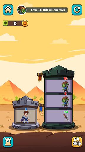Hero Tower Wars - Merge Puzzle screenshot 7