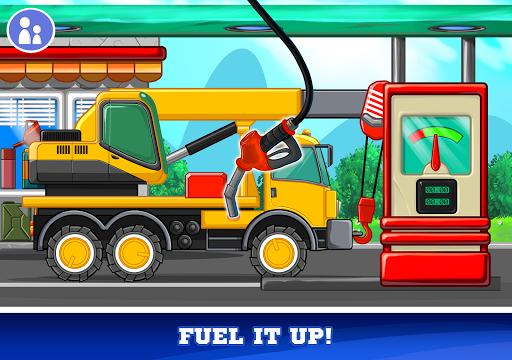 Kids Cars Games! Build a car and truck wash! screenshot 18
