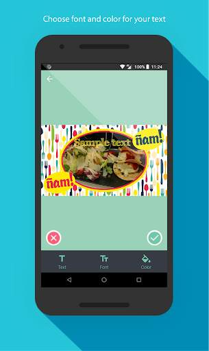 Food photo frames screenshot 3