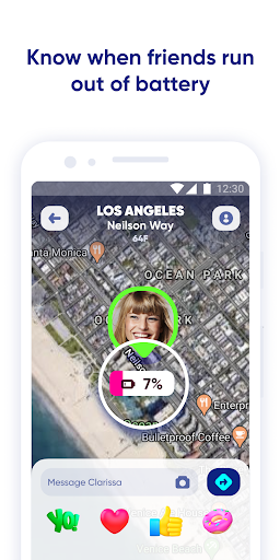 Zenly - Your map, your people screenshot 2