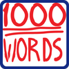 1000 words in English icon