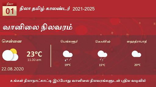 Nila Tamil Calendar 2021 3 تصوير الشاشة
