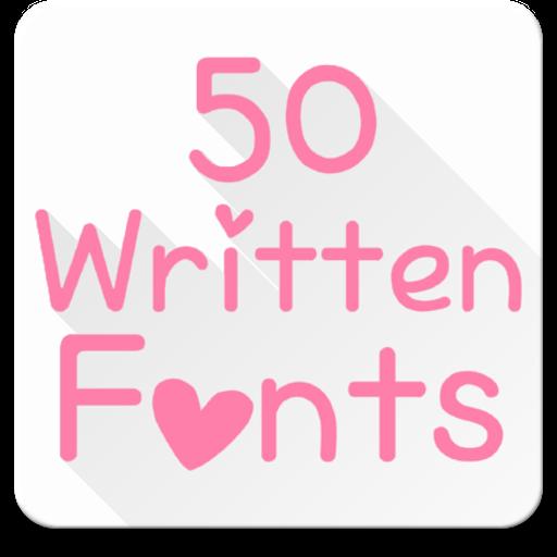 Fonts for FlipFont 50 Written icon