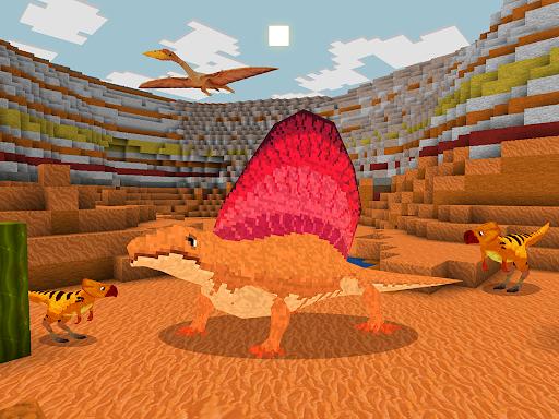 JurassicCraft: Free Block Build & Survival Craft screenshot 17