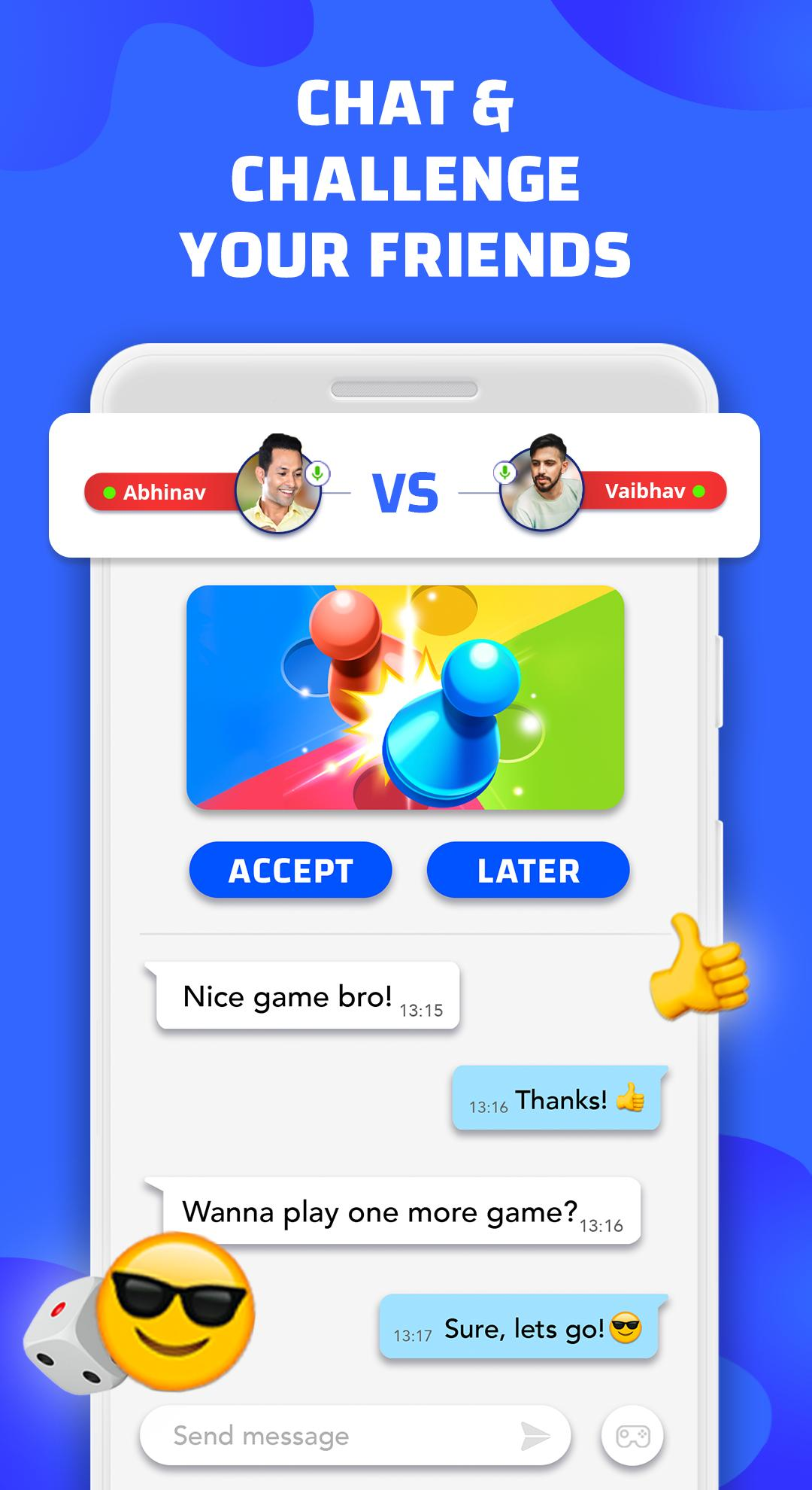 Hello Ludo India - Live Video Chat Ludo screenshot 2