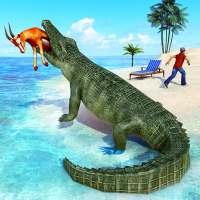 Злой крокодил - Игры про дикая охота on 9Apps